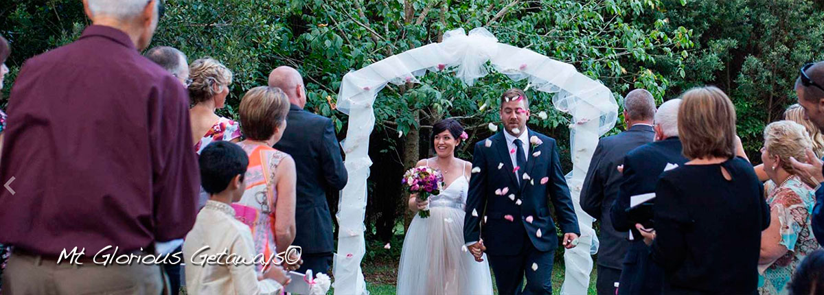 What a Brisbane wedding venue - Mount Glorious Getaways